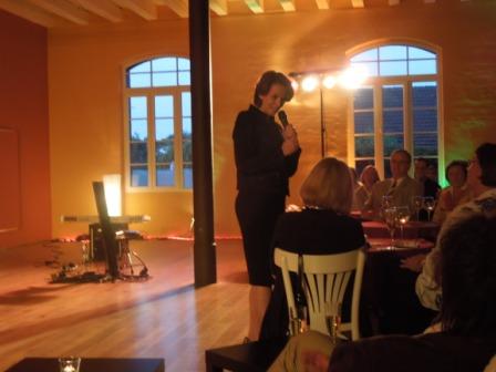 Schirmherrin des Landesverbandes Baden-Württemberg Frau Tülay Schmid begrüßt die Gäste
